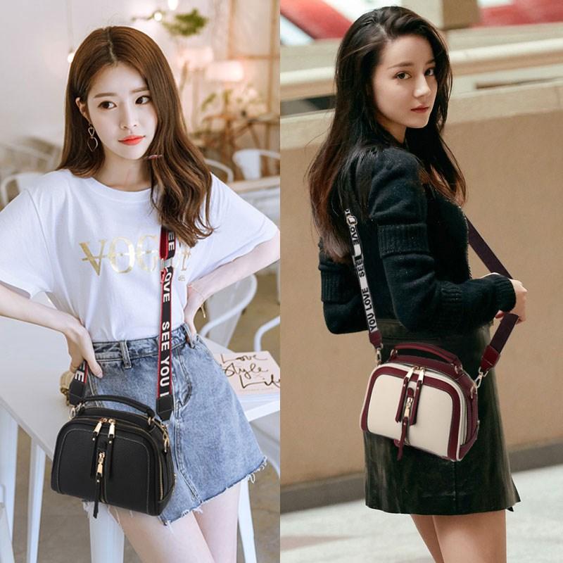 赛莲娜2018夏季上新小包包韩版撞色单肩包时尚宽肩仙女包小方包潮