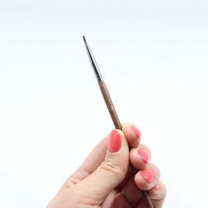 250号纤维毛精细眼线刷眼线膏刷遮瑕刷长杆包邮初学者美妆工具