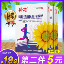 Sunflower pain relief paste, tendon and bone paste, scapulohumeral periarthritis, cervical spondylosis, lumbar disc herniation, synovitis, lumbar muscle strain paste