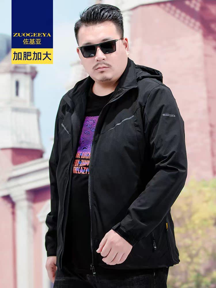 専門売り場は春と秋の新商品の男性ジャケットに肥満を加えています。
