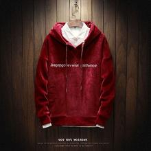 Long sleep T-shirt male hooded loose size sweetelarge