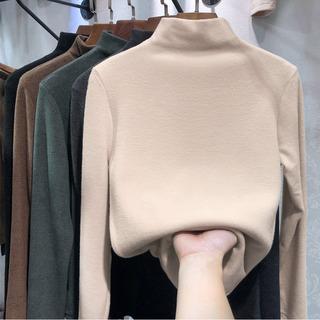 2021年新款秋冬针织衫仿羊绒衫女装仿羊毛衫上衣打底小衫长袖t恤