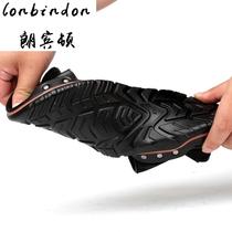朗宾顿夏季凉鞋透气防滑魔术贴罗马鞋25 30 35岁青年夏天大码凉鞋