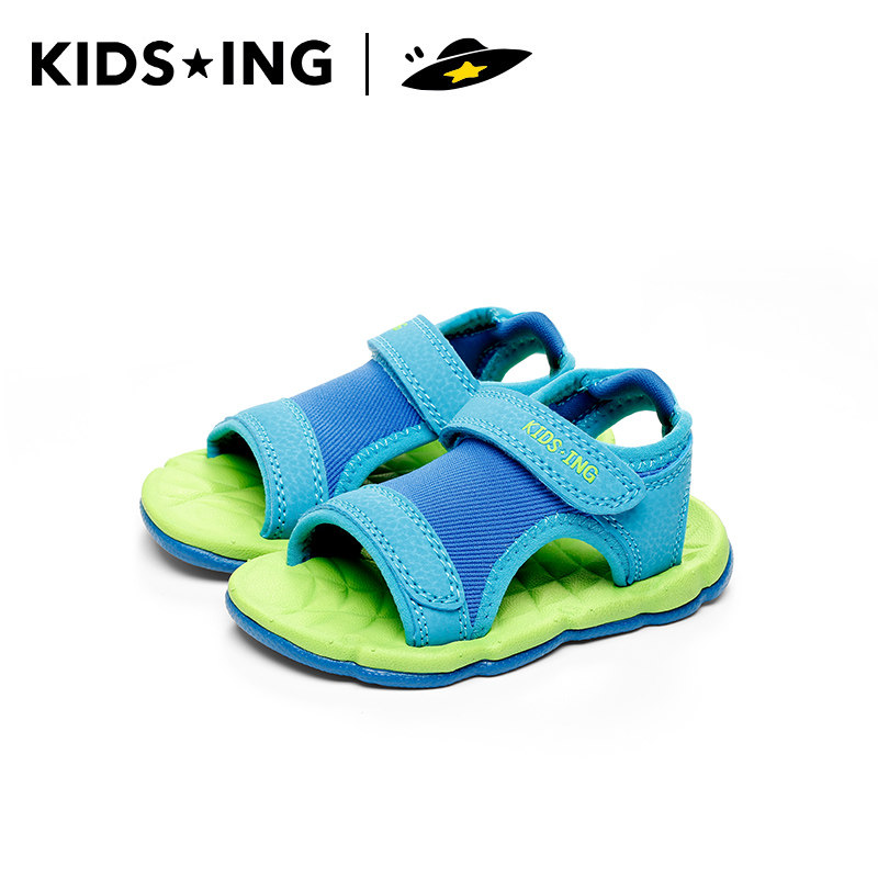 Kidsing childrens Beach Shoes Boys sandals girls childrens leisure non slip soft soled fashion sports shoes