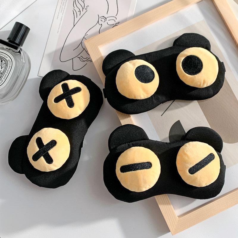 眼罩睡眠夏季专用缓解眼疲劳搞怪可爱卡通冷热敷儿童遮光学生男女