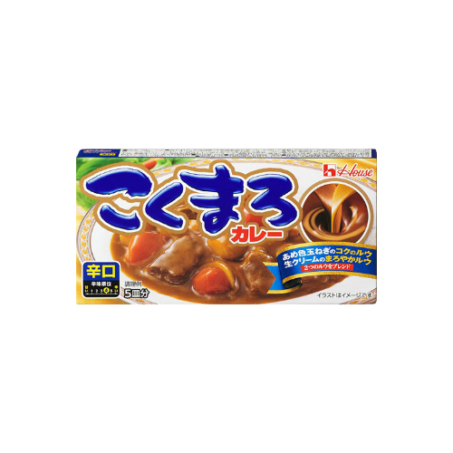 Japanese original imported curry with strong flavor, 140g spicy curry