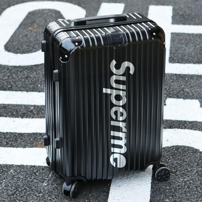 行李箱男涂鸦旅行新款拉杆箱万向轮结实耐用加厚女24寸学生潮箱子