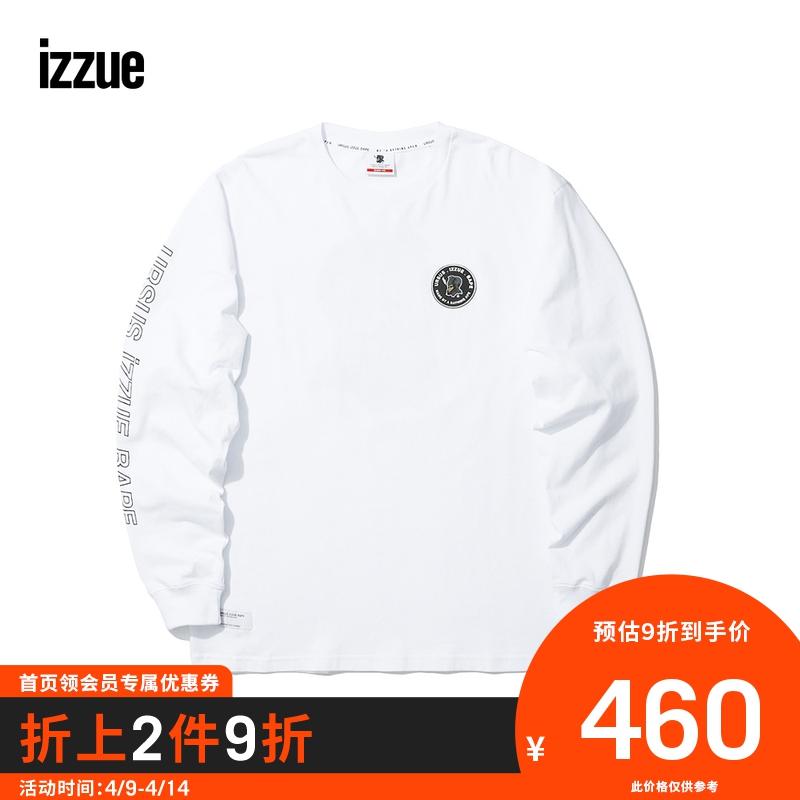 URSUS.IZZUE.BAPE男裝長袖T恤冬季寬松印花2108W9D