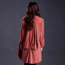 原创设计女装品牌促销 欧美大牌大码衬衫清仓特价 品质中年妈妈装