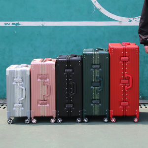 hmrattsh行李箱学生20寸万向轮铝框24拉杆密码登机旅行箱子男女29