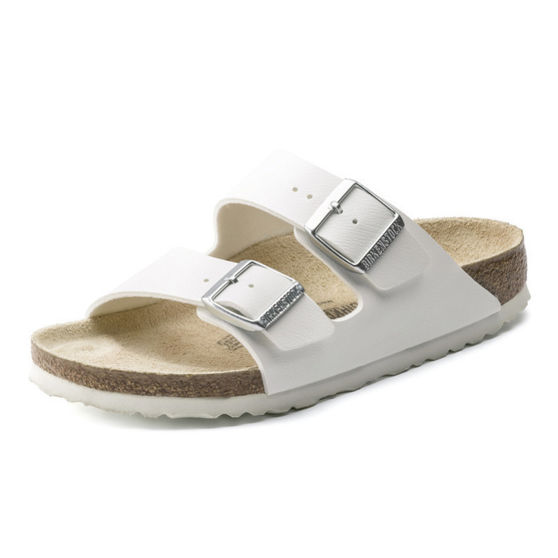 BIRKENSTOCK Cork Slippers, Women's Arizona Series of Imported Fashion Sandals and Slippers