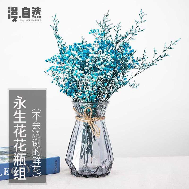 满天星花束家居摆设小清新花瓶10月17日最新优惠