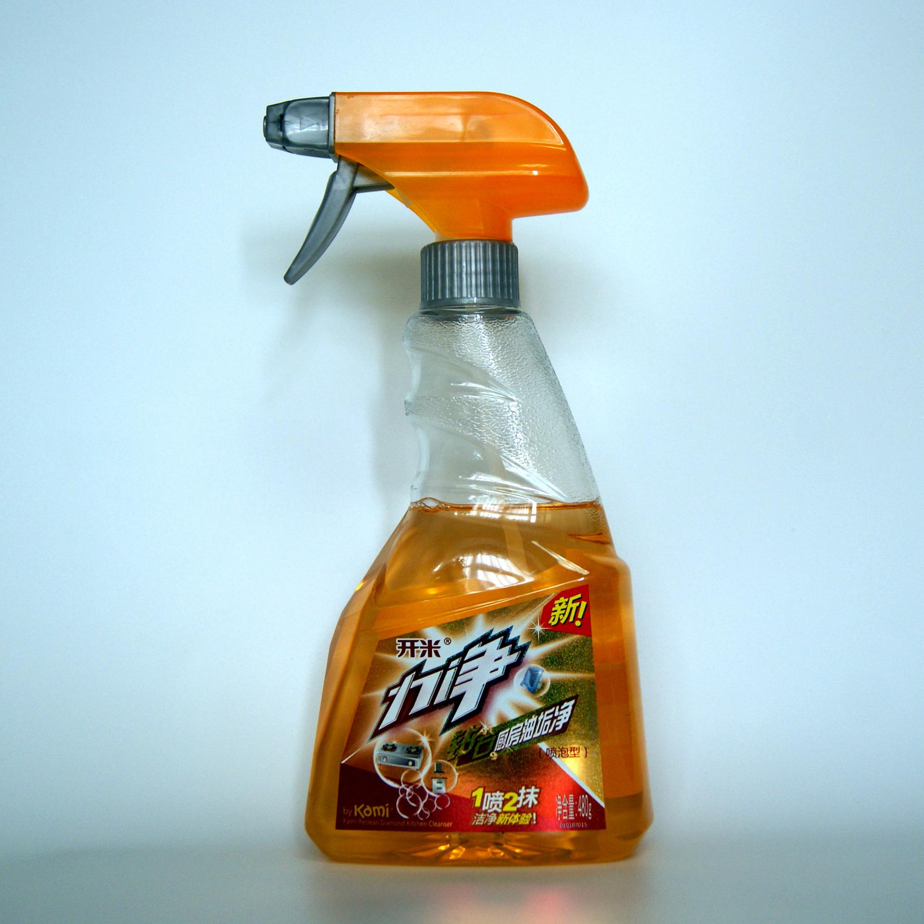 开米力净钻石厨房重油垢油烟清洗剂480g瓶装限时限量特价包邮