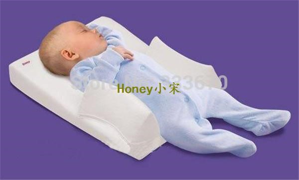 Hot Sale Baby Infant Newborn Anti Roll Pillow Ultimate Sleep