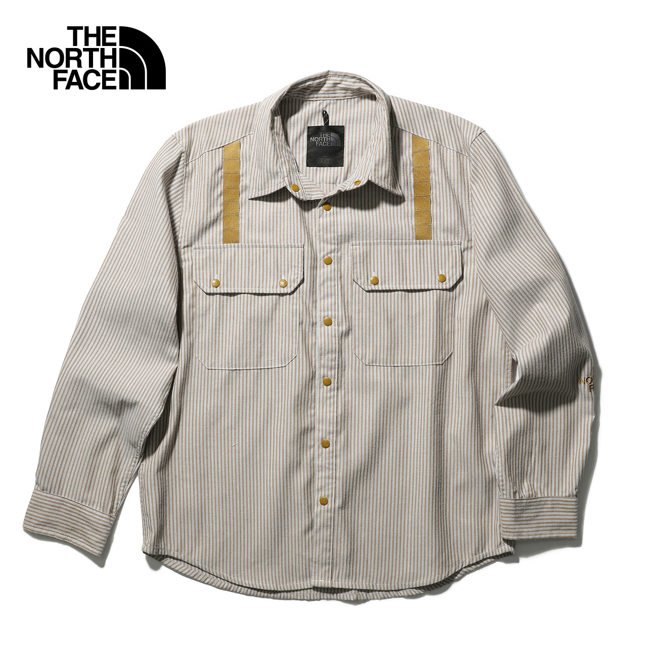 TheNorthFaceUE北面DOUBLE CARGO LS SHIRT仓石一树长袖衬衫|46DW