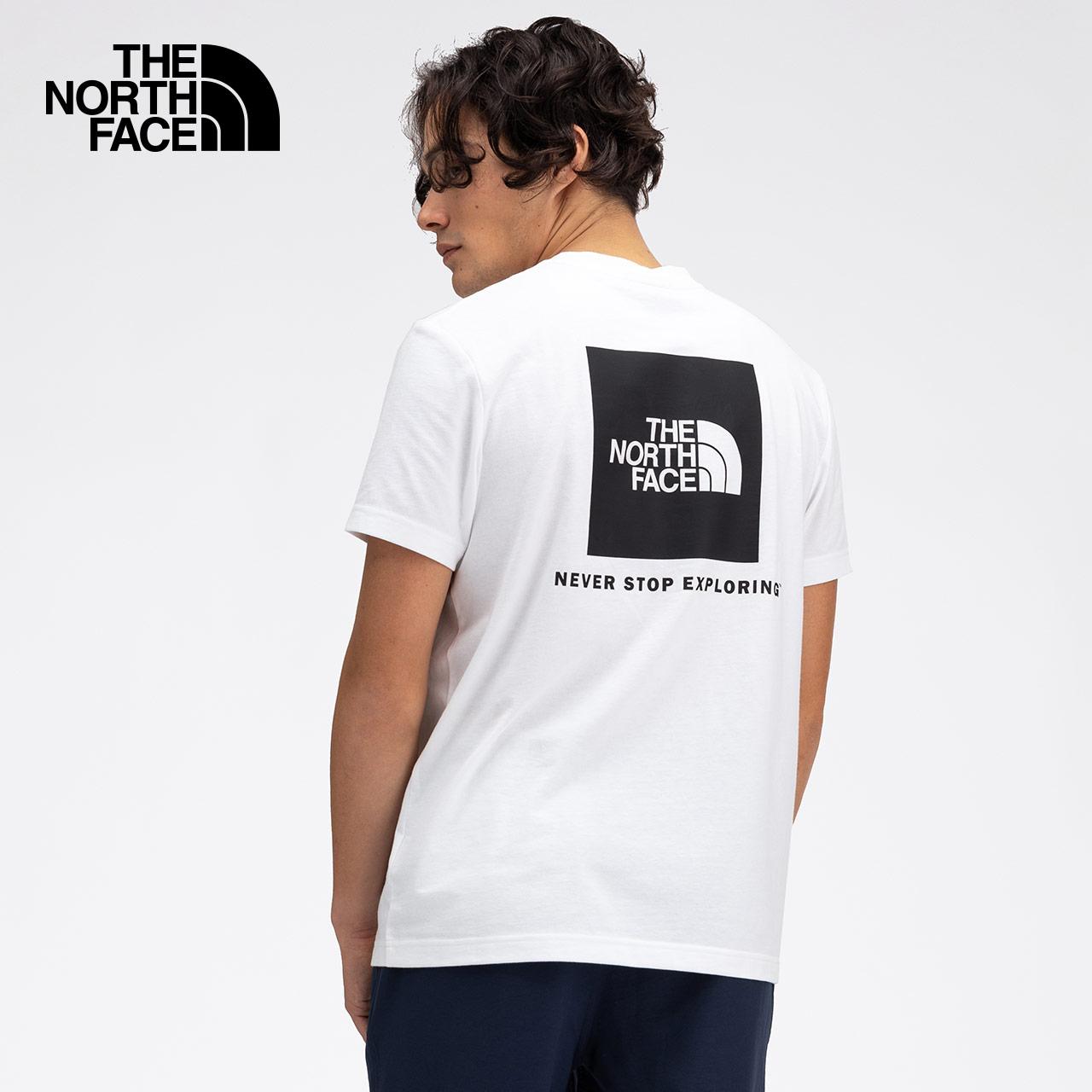 TheNorthFaceUE北面S/S BOX TEE男寬松速干短袖T恤|49DJ