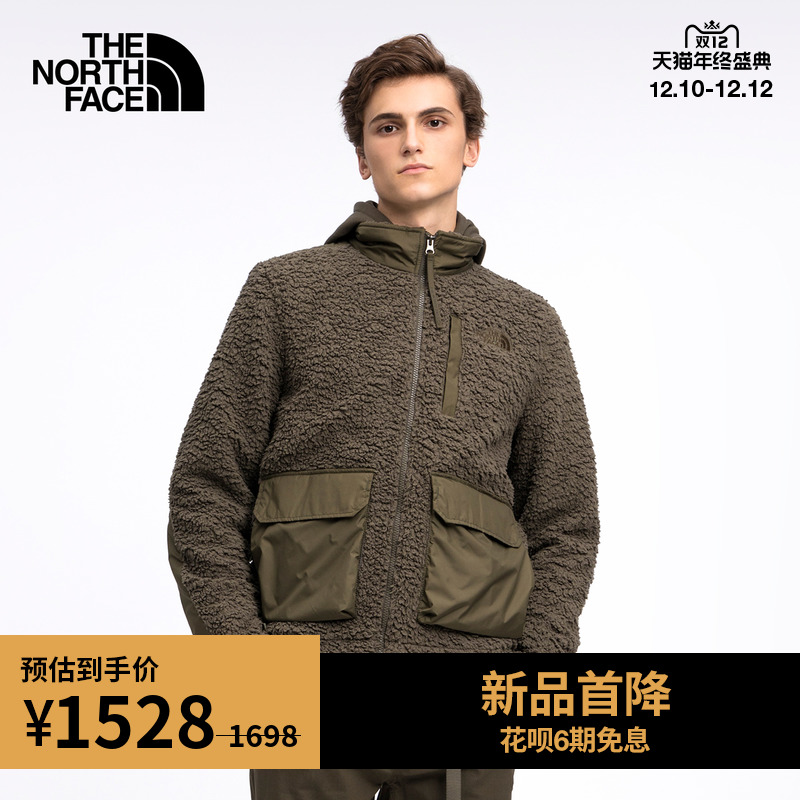 TheNorthFaceUE北面CITY ZIP IN FLEECE JKT男抓绒外套保暖|4U5P