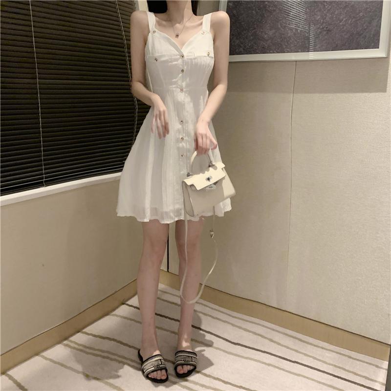夏小连衣裙白裙哪款好