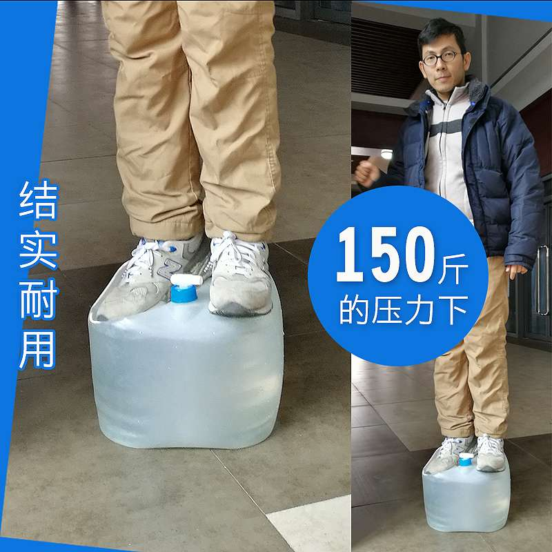 Imported outdoor products portable Taiwan water tank folding water bag camping travel drinking water bag water storage truck bucket