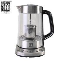 Baisha Creek thickened Glass tea utensils black tea flower home electric teapot automatic intelligent tea Health kettle