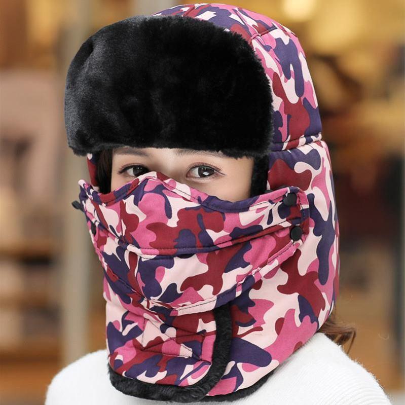 加厚护耳帽儿童秋冬季中老年人亲子老头帽男女保暖帽防风帽东北帽