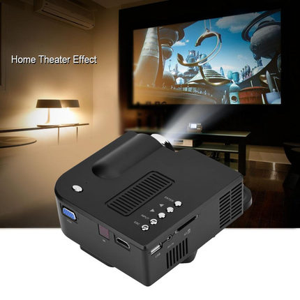 UC28 20-80in Screen Full HD Projector 16:9/4:3 350:1 Contras