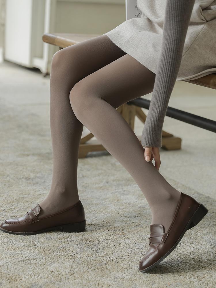 2条春夏薄80D打底袜女哑光天鹅绒不透肉连裤袜丝袜踩脚九分裤新品