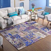 易普美家卧室地毯客厅简约可爱机洗欧美式乡村房间长方形茶几床边