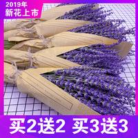 Лаванда сухой букет настоящий цветок гостиная украшение украшения букет Xiaoqing новый Подарок, спокойствие, сон новый цветок