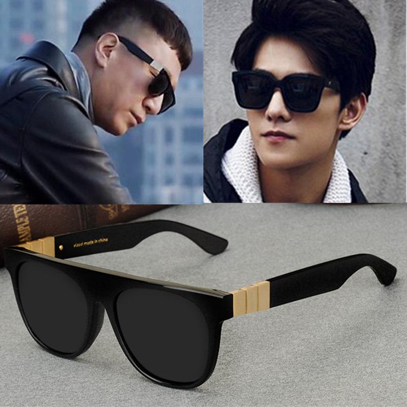Good sir, sun Honglei, Korean star, same polarized sunglasses, mens big frame V goggles