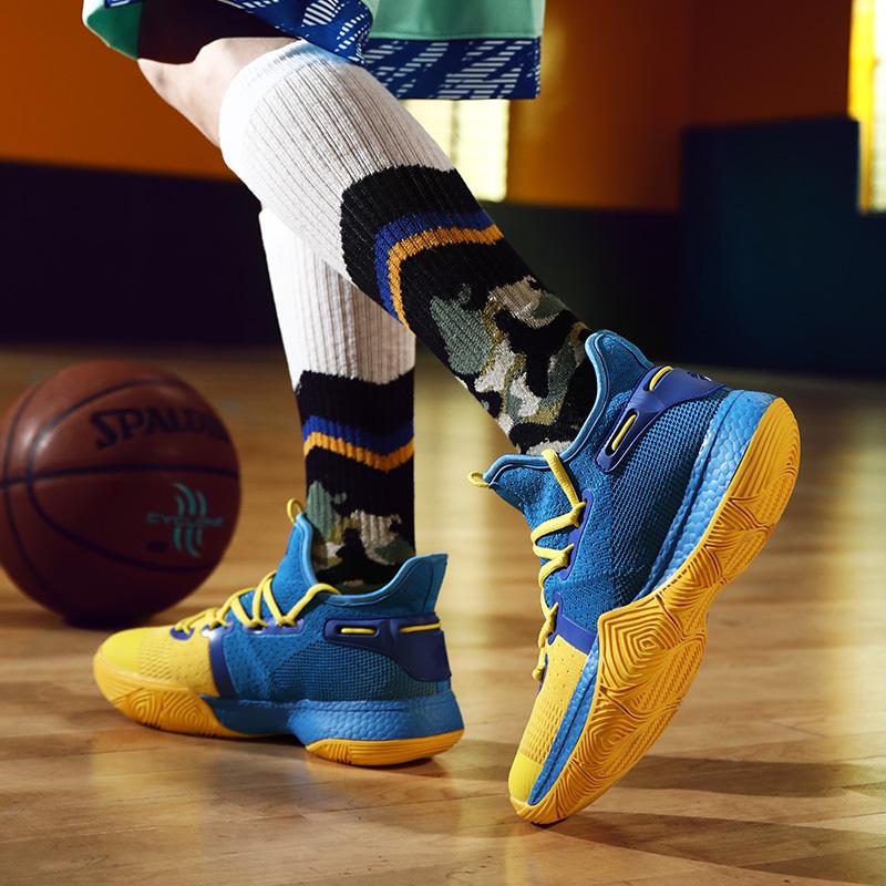 恩施耐克库里6实战篮球潮鞋男欧文5室外学生高帮夏季针织运动鞋情