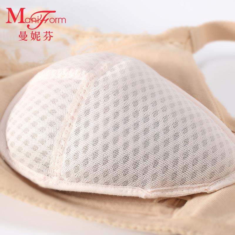 曼妮芬呼吸蜂巢义乳 术后内衣 术后文胸