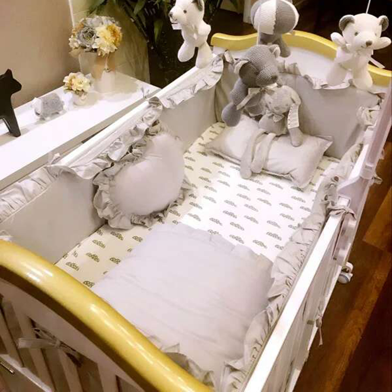 Радуга цветок кровать для младенца комплекты продуктов модель хлопок ребенок с круглой кроватью кровать вокруг кровать предприятия кровать для младенца занавес ребенок постельные принадлежности сделанный на заказ