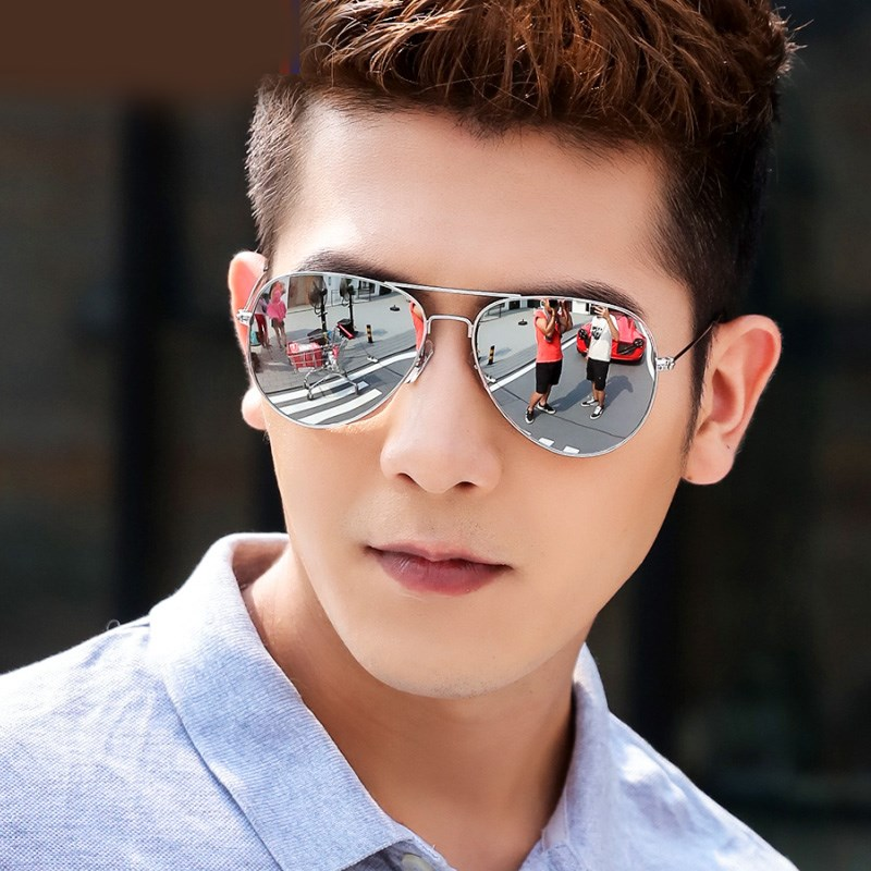 Mercury reflective colorful film womens Sunglasses mens toads mens Sunglasses trendsetter driving toads