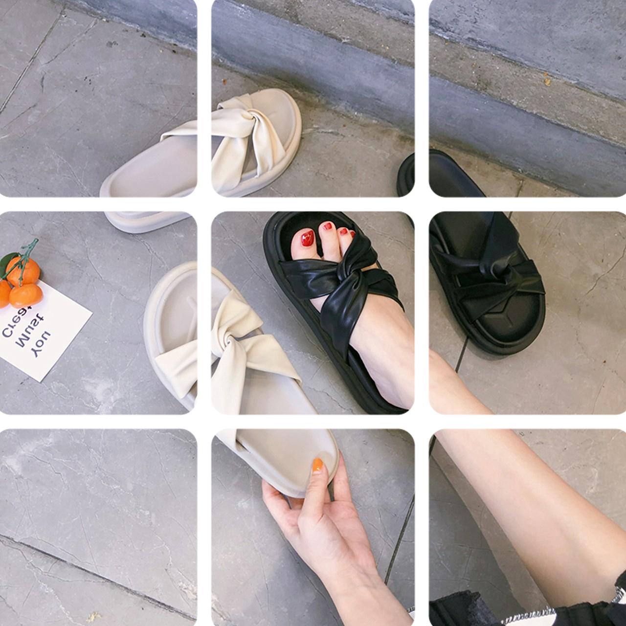 11.72元包邮网红夏季外穿2019新款百搭拖凉拖鞋