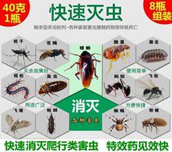 防蝎子药祛去除防虫粉专用驱除除驱驱杀灭蜈蚣的药蜘蛛治室内臭虫