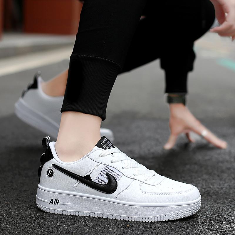 OW联名Force 1AF1空军一号解构黑白男板鞋AJ7747女运动鞋莆田鞋