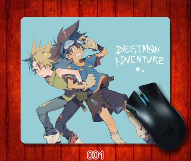 Digital baby adventure customized mouse pad logo same advertisement birthday gift for men and women 7179