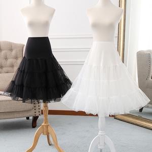 裙撑 lolita日常无骨软纱撑洛丽塔软妹半身衬裙cosplay暴力蓬蓬裙