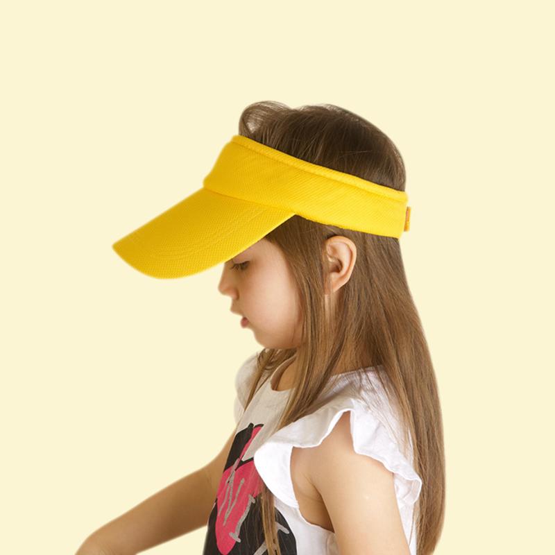 男夏季女童空顶鸭舌帽出游儿童帽子