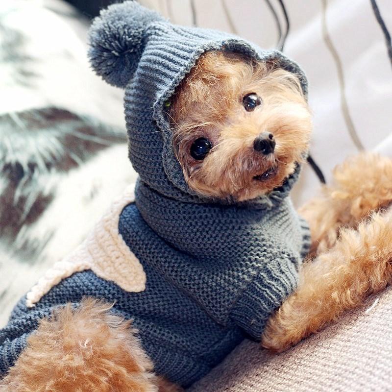 狗狗毛衣编织手工小型大型犬保暖毛衣宠物服饰衣服秋冬金毛泰迪秋