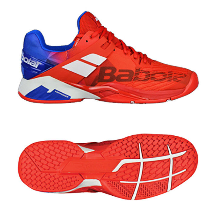 Purchasing Babolat mens tennis shoes propulse anger AC red 30 s18208