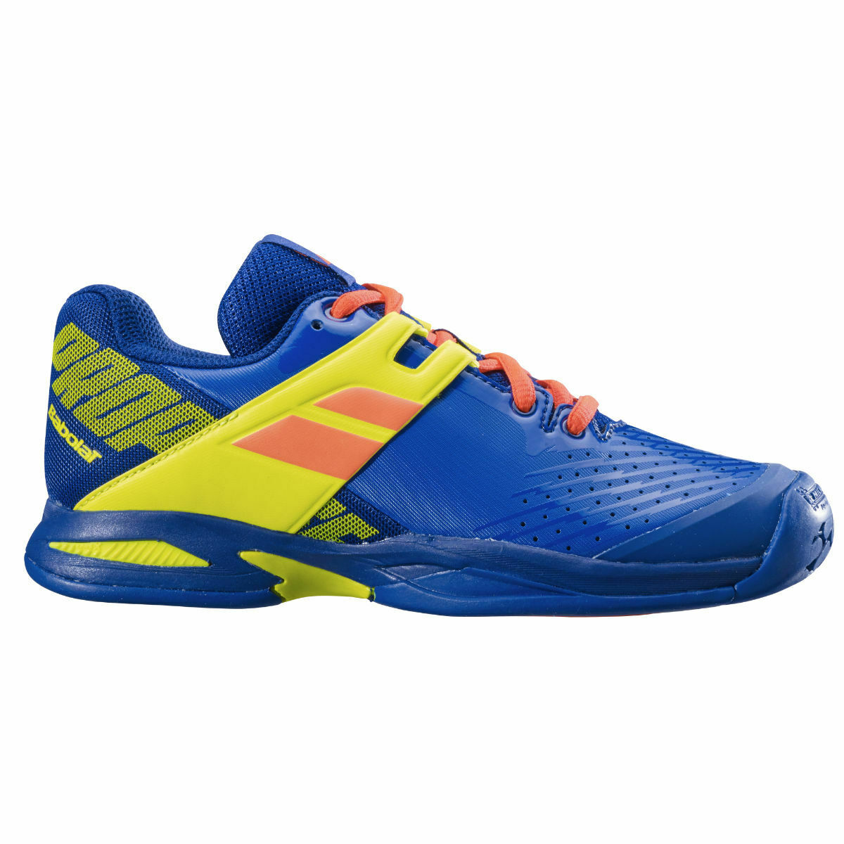 Buy Babolat propulse AC youth tennis shoes blue yellow