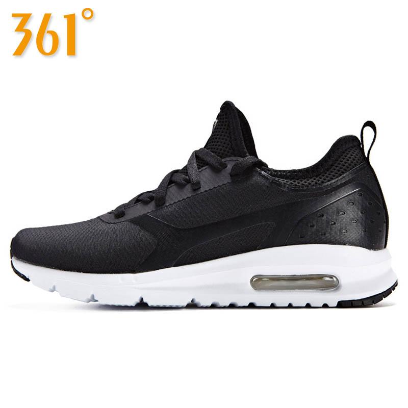361度女鞋厚底运动鞋跑步鞋秋季气垫鞋 361中年女士休闲鞋妈妈鞋
