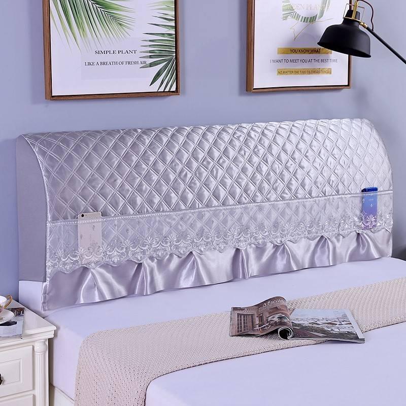 高級ベッドの上のcカバー北欧スタイルの1メートル8のベッドの上の柔らかい包みは式の王女をプラスします。
