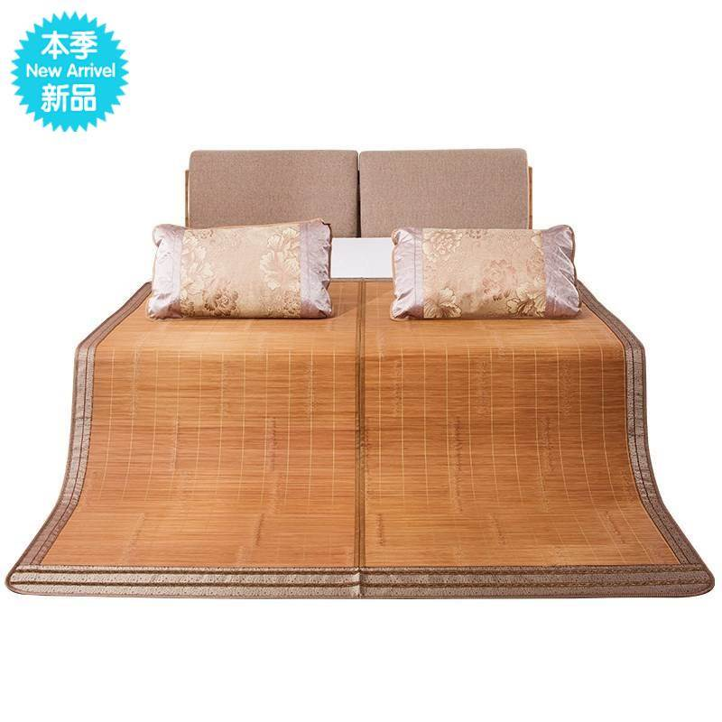 High grade village cool. Bamboo mat in summer.. 8 x 2 opening 0 1.5 m double folded carbonized 1135 m 1.2 m
