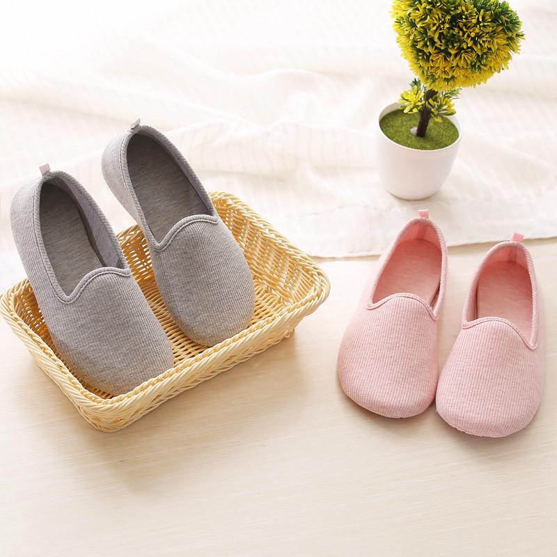 Mùa thu và mùa đông vớ giày chống trượt người lớn nữ trong nhà người lớn nhà vớ dày giáo dục sớm vớ mềm đế ngoài - Vớ mắt cá chân