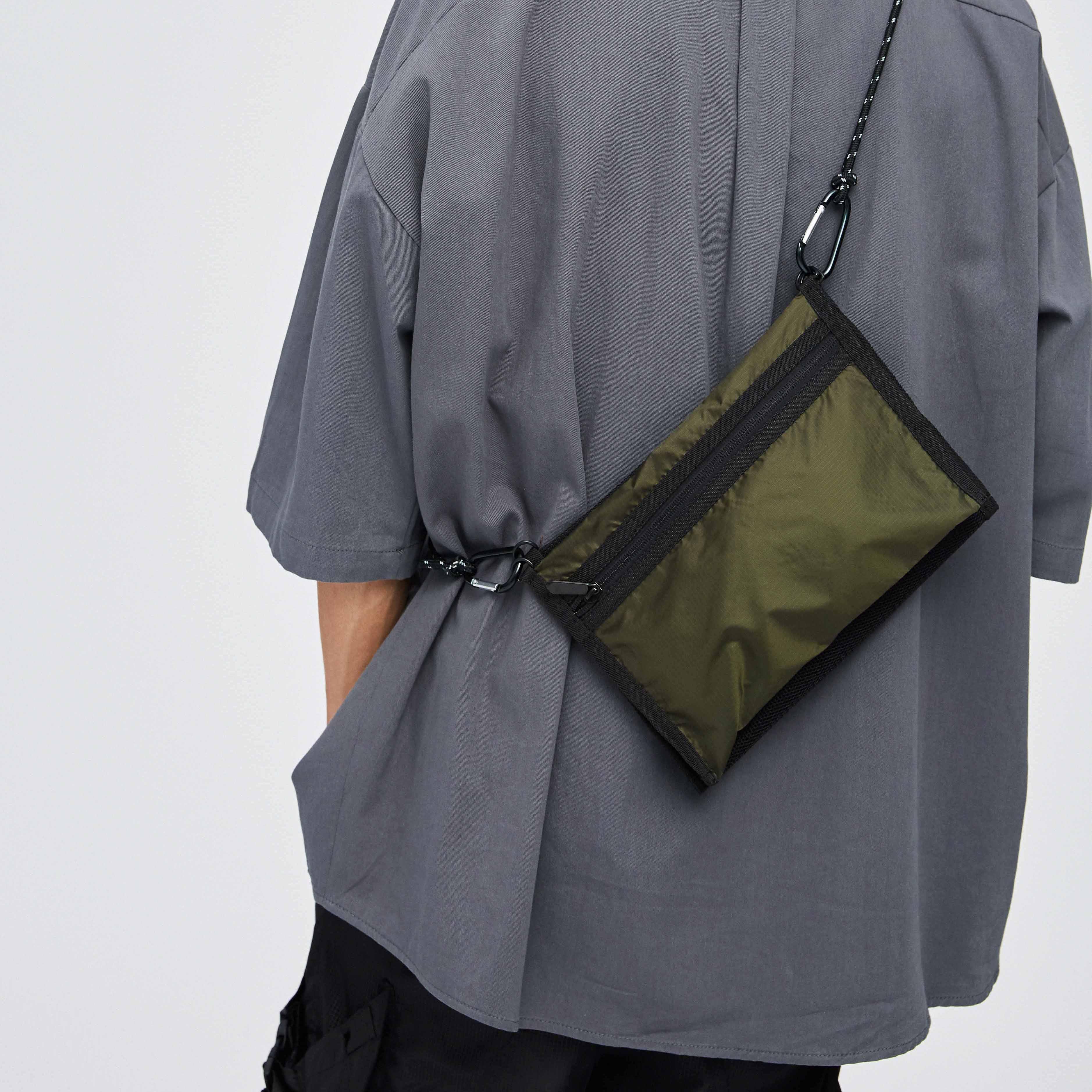 Assauit Street retro 3M reflective bag one shoulder straddle sports thundertide brand bungee bag