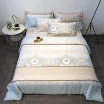 1.51.8夏季双面天丝被套单件清凉冰丝被罩单双人丝滑裸睡夏凉床品