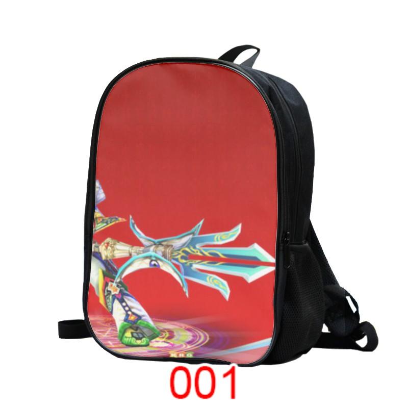 学生カバン熱血江湖の銃の客の双肩のカバンのアニメ・漫画の周辺の肩のリュックサックは注文して髪を代行します8257